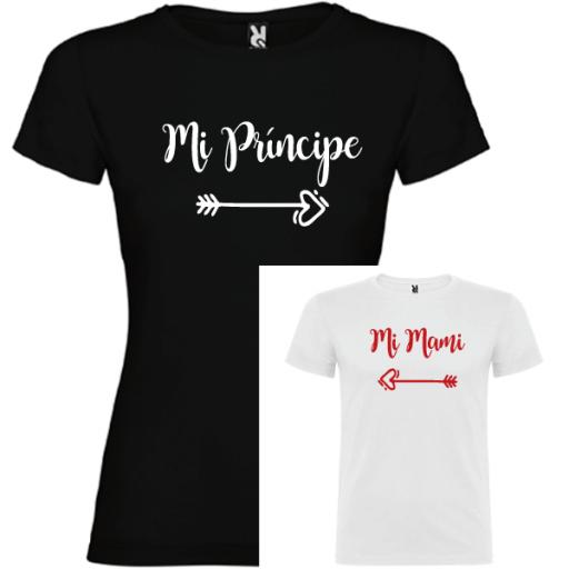 2 Camisetas Mi príncipe, Mi mami [1]