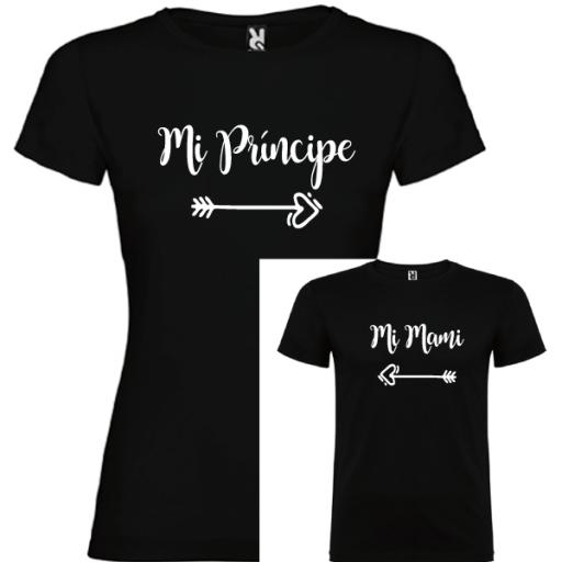 2 Camisetas Mi príncipe, Mi mami [2]