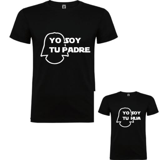 2 Camisetas Soy Tu Padre [0]
