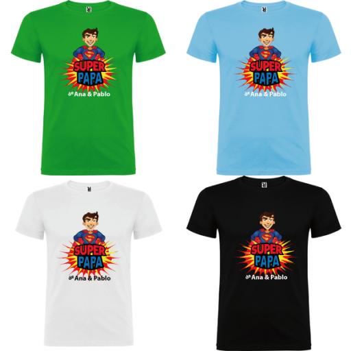 Camiseta Súper Papa de [3]