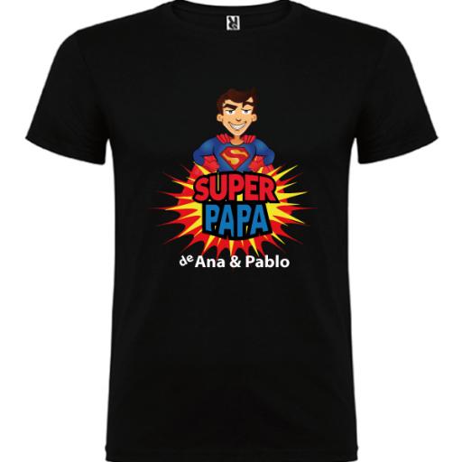 Camiseta Súper Papa de [1]
