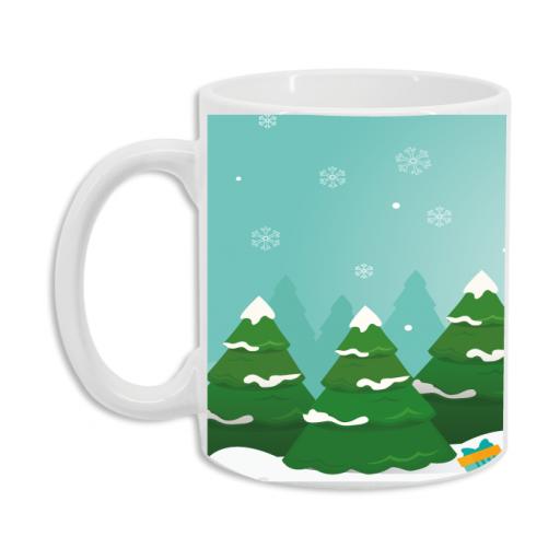 Taza Feliz Navidad Nieve [1]