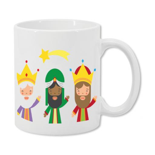 Taza Feliz Leche para Reyes Magos
