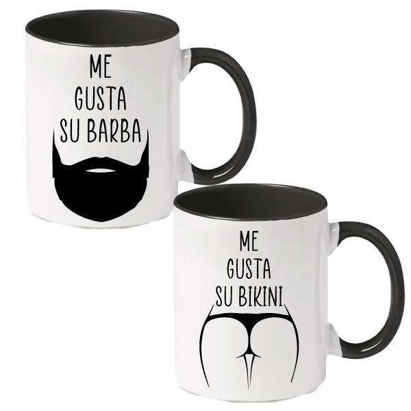 Taza Me gusta tu Bikini/Barba