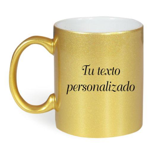 Taza Dorada personalizable [1]