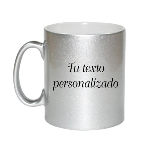 Taza Plateada personalizable [1]