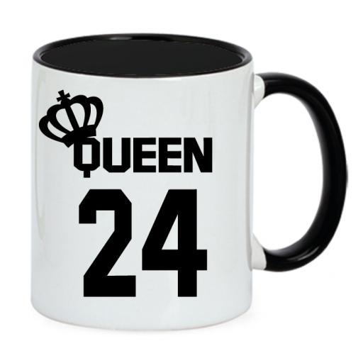 2 Tazas King y Queen bicolor negro [1]