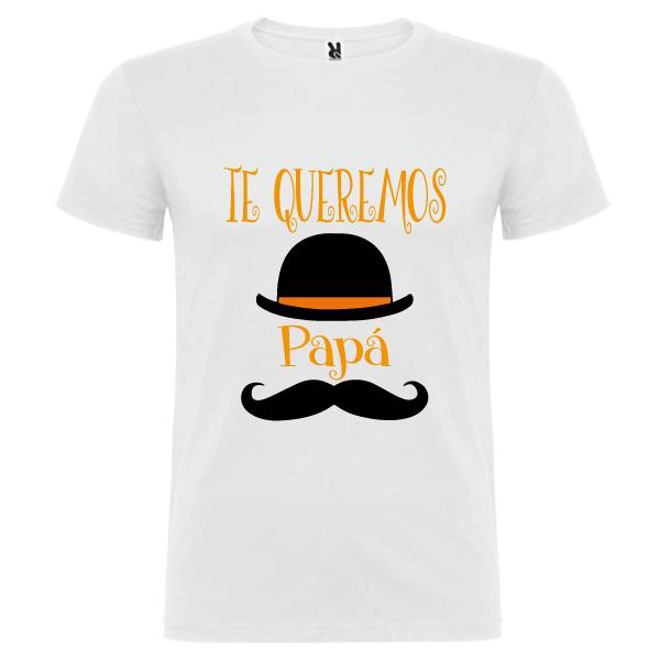 Camiseta Te queremos papa