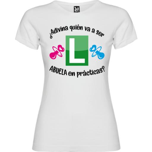 Camiseta Abuela en prácticas [1]