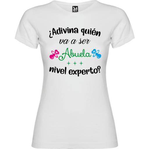 Camiseta Abuela nivel experto