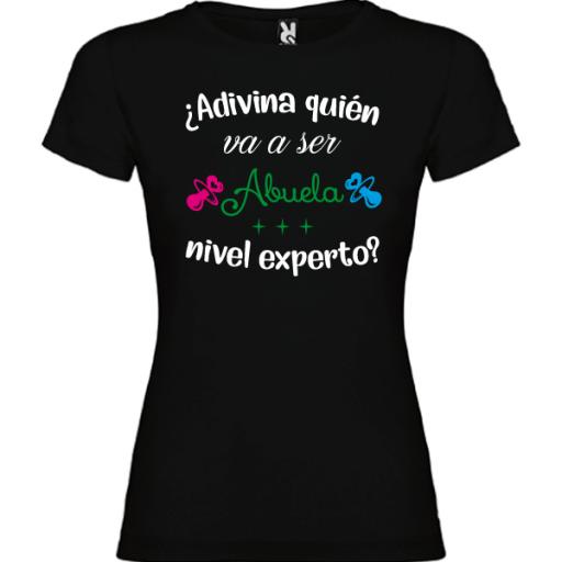 Camiseta Abuela nivel experto [1]