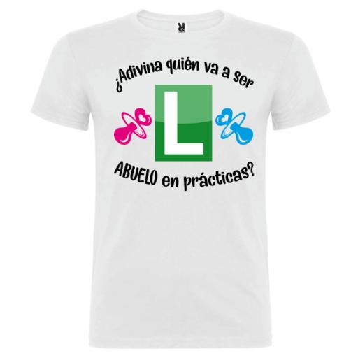 Camiseta Abuelo en prácticas [2]