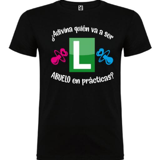 Camiseta Abuelo en prácticas [1]