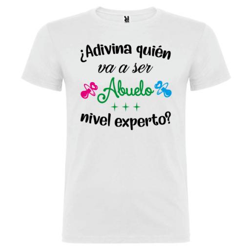 Camiseta Abuelo nivel experto [0]
