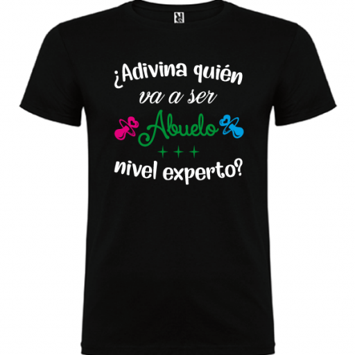 Camiseta Abuelo nivel experto [1]