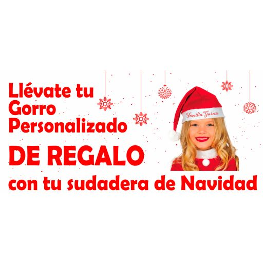 Sudadera Roja Navidad Reno [1]