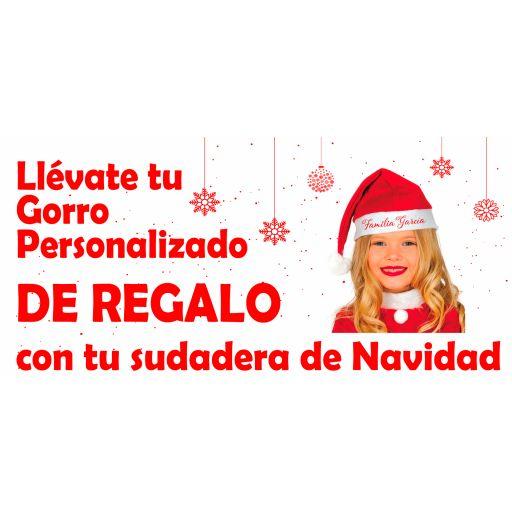 Sudadera Roja Navidad Reno Feliz [1]