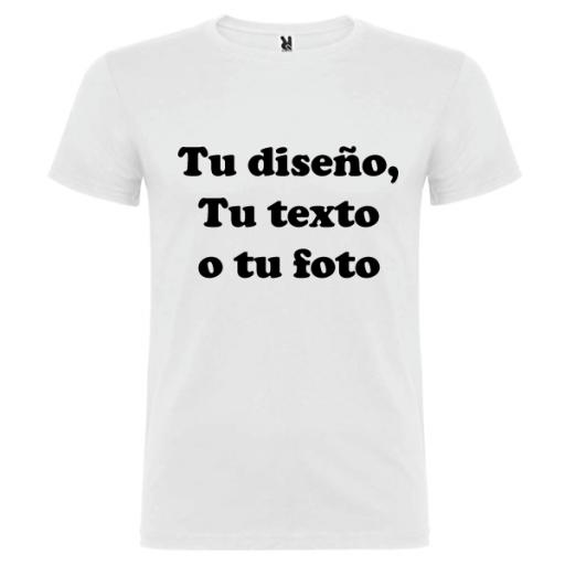 Camiseta Personalizable Hombre