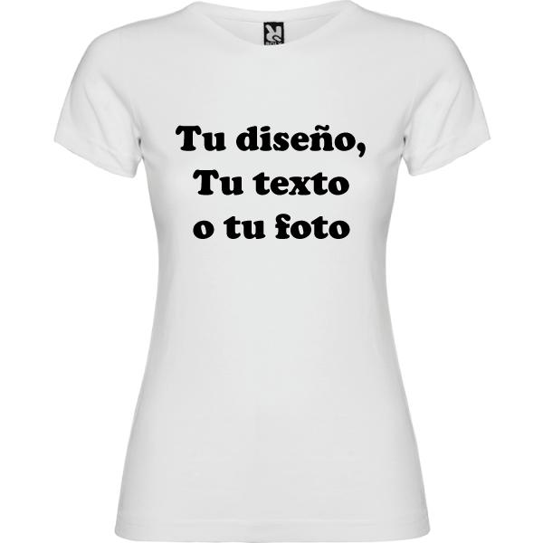 Camiseta Personalizable Mujer