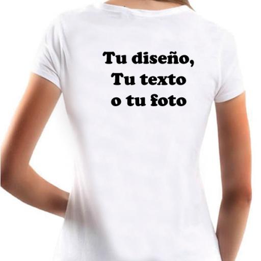 Camiseta Personalizable Mujer [1]