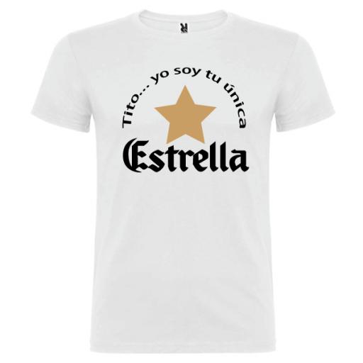 Camiseta Tito soy tu única estrella [2]