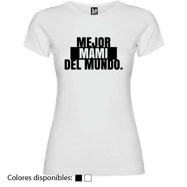 Camiseta Mejor Mami del Mundo