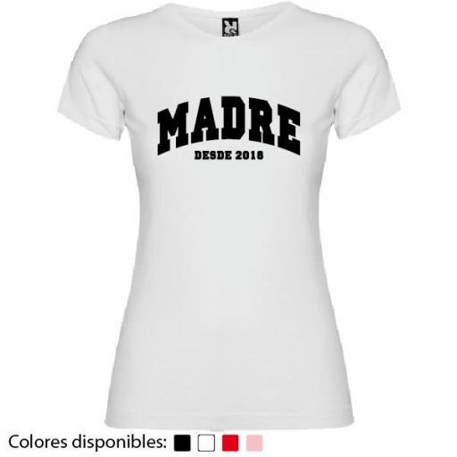 Camiseta Personalizada Madre Desde [3]