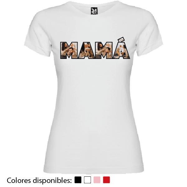 Camiseta Madre Personalizada Fotos