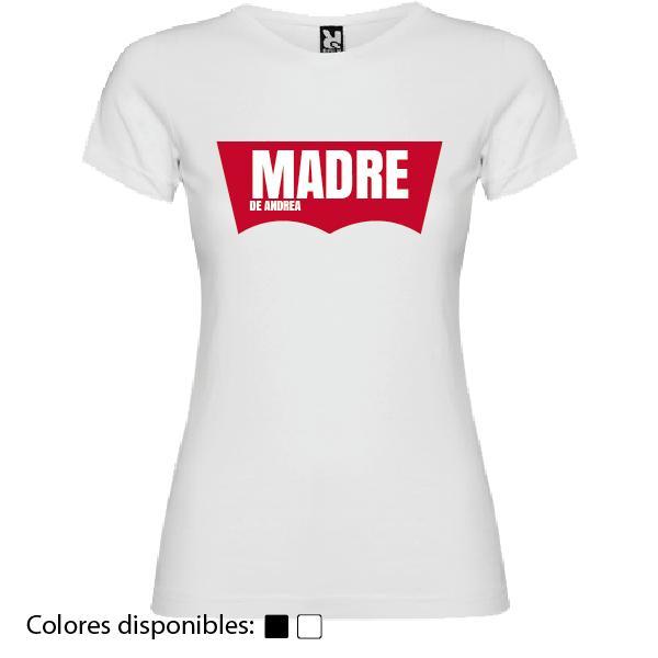 Camiseta Madre de... (Diseño Levi's)