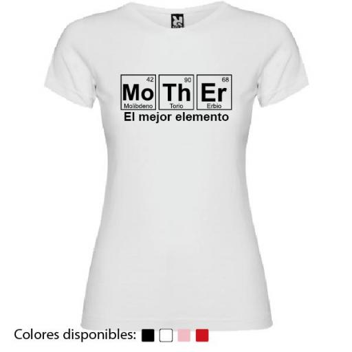 Camiseta Mother, El Mejor Elemento [3]