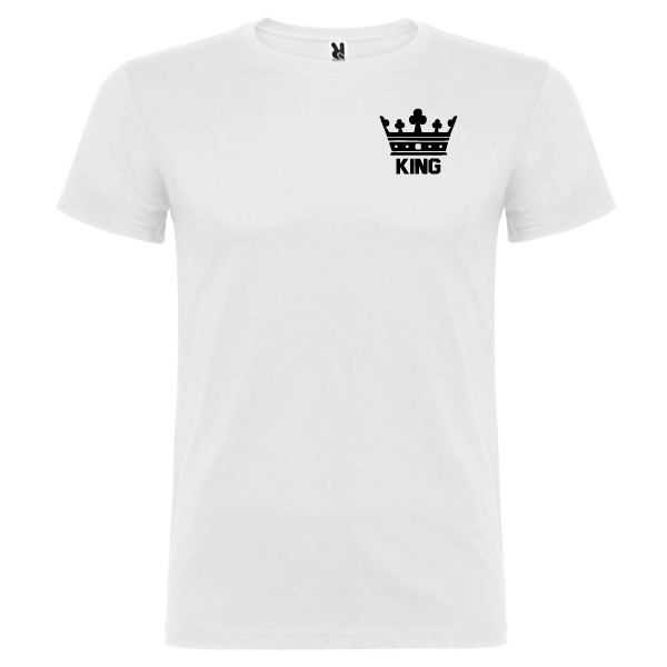 Camiseta original King Blanco
