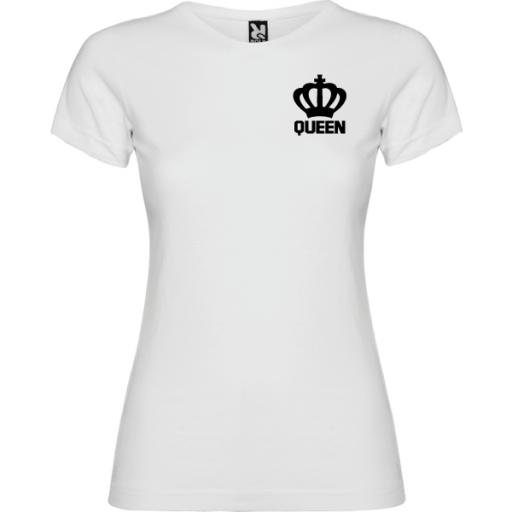 Camiseta original Queen Blanco