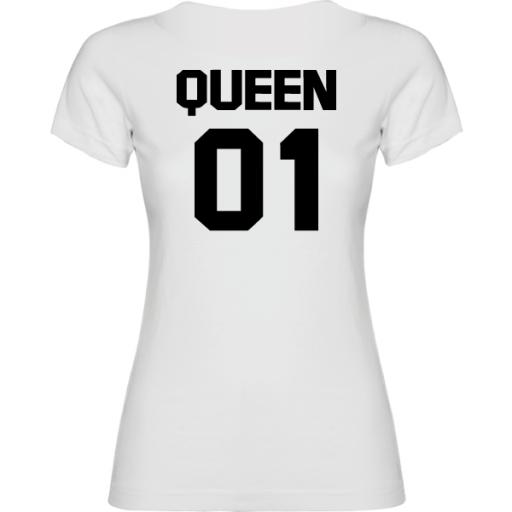 Camiseta original Queen Blanco [1]