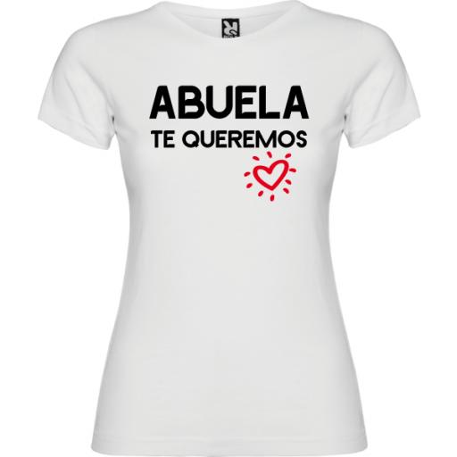 Camiseta Abuela Te queremos [1]