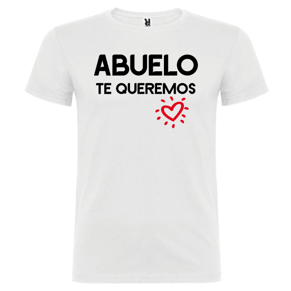 Camiseta Abuelo Te queremos