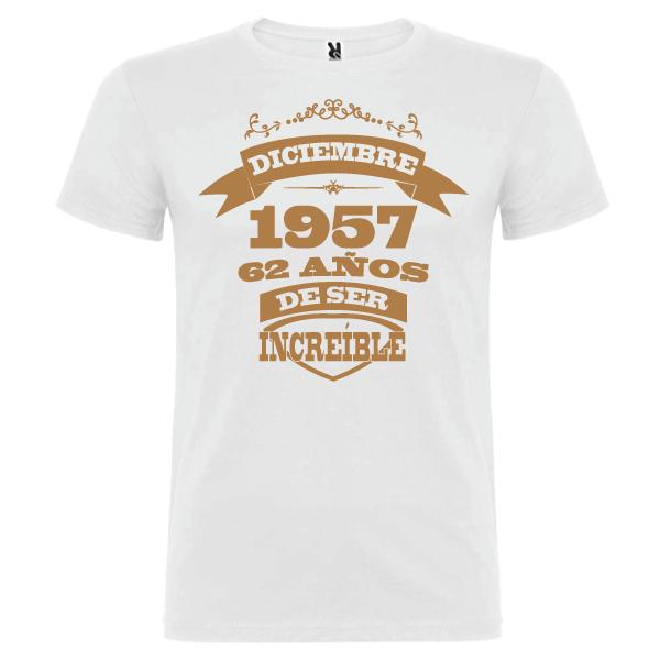 Camiseta Años de ser increíble