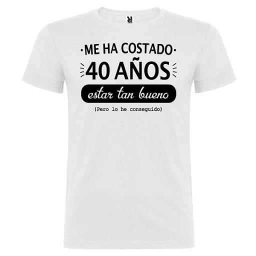Camiseta Estar Tan Bueno [1]
