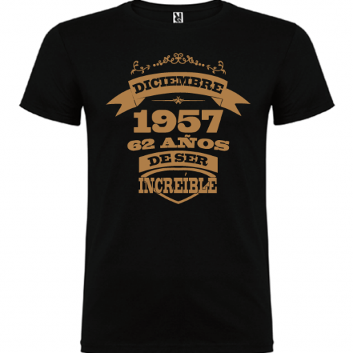 Camiseta Años de ser increíble [1]