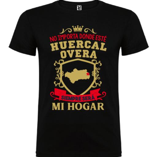 Camiseta Siempre será mi hogar -Hombre-