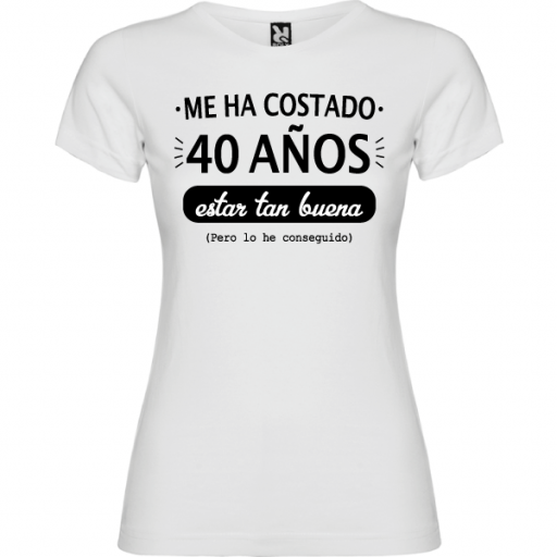 Camiseta Estar Tan Buena
