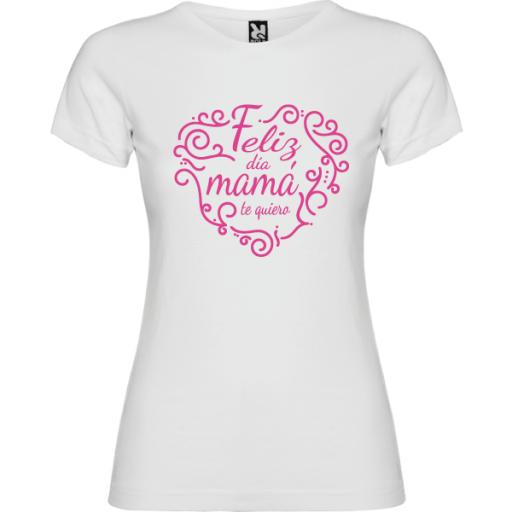 Camiseta Feliz día mama