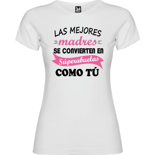Camiseta Básica Super Abuela [1]