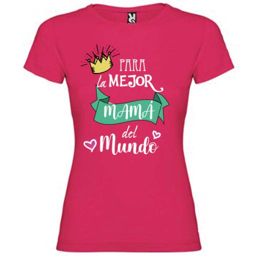 Camiseta Para la mejor mama [3]