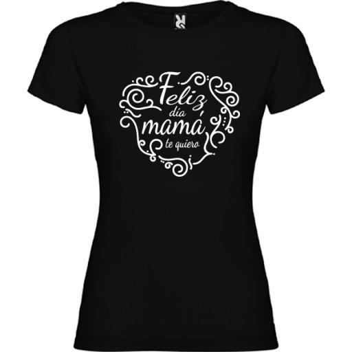 Camiseta Feliz día mama [2]