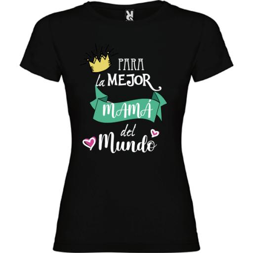 Camiseta Para la mejor mama [2]