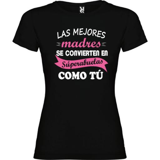 Camiseta Básica Super Abuela
