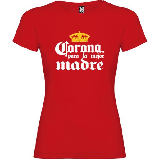 Camiseta Corona para la mejor