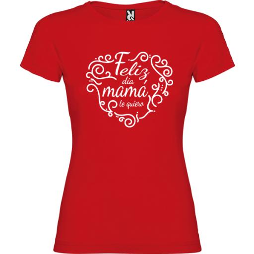 Camiseta Feliz día mama [3]