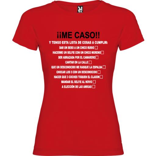 Camiseta Me caso [1]