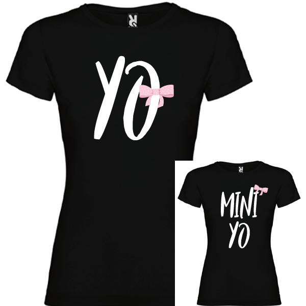 2 Camisetas Yo y mini Yo